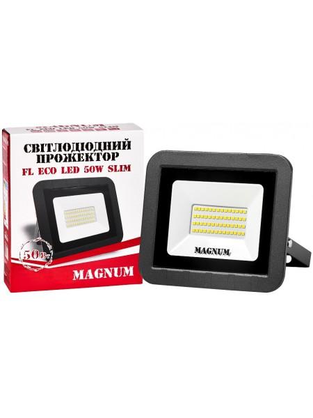 светодиодный прожектор MAGNUM FL ECO LED 50Вт slim_6500К_IP65 - (90011661) (90011661) LED Прожекторы - интернет - магазин Моя Лампа ™