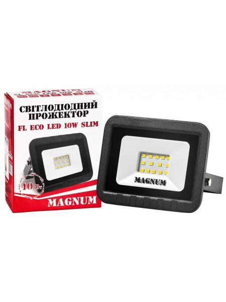светодиодный прожектор MAGNUM FL ECO LED 10Вт slim_6500К_IP65 - (90011658) (90011658) LED Прожекторы - интернет - магазин Моя Лампа ™