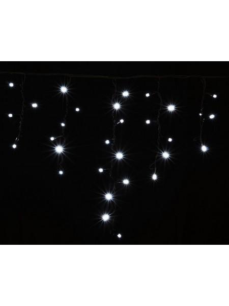 гирлянда внеш DELUX ICICLE 75LED 2x0.7m 18flash бел/чор IP44 - (90012952) (90012952) Гирлянды - интернет - магазин Моя Лампа ™