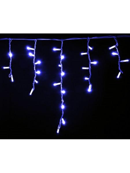 гирлянда внеш DELUX ICICLE 75LED 2x0.7m 18flash син/бел IP44 - (90012957) (90012957) Гирлянды - интернет - магазин Моя Лампа ™