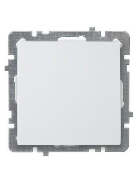 Вимикач Nilson Touran білий 1кл без рамки - (24110401) (24110401) Розетки і вимикачі - інтернет - магазині Моя Лампа ™