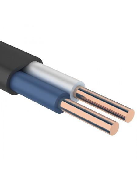 кабель ВВГ-П нг 2х4 ІНТЕРЕЛЕКТРО (бухти по 100 м). (Т0000005303) Кабельно-провідникова продукція - інтернет - магазині Моя Лампа ™