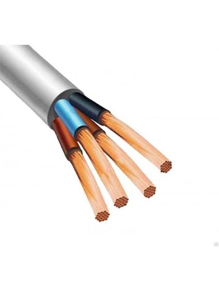 кабель ПВС 4х1 ИнтерЭлектро (бухты по 100 м). (Т0000004388) Кабельно-проводниковая продукция - интернет - магазин Моя Лампа ™