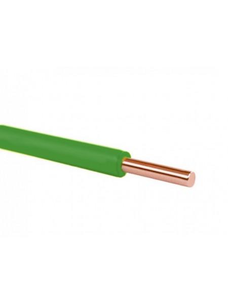 Кабель ПВ 1 - 1,5 зелений Україна (10000001155) Кабельно-провідникова продукція - інтернет - магазині Моя Лампа ™