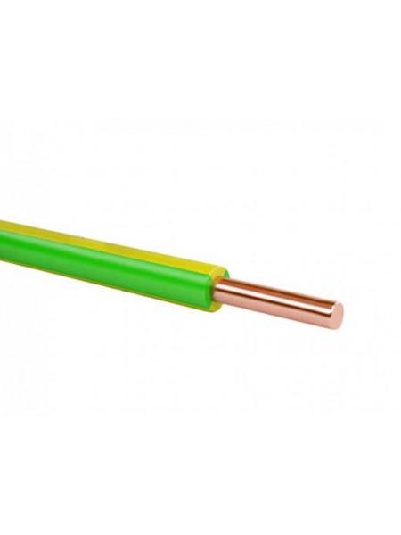 Кабель ПВ 1 - 4 желтый/зеленый Украина (10000001170) Кабельно-проводниковая продукция - интернет - магазин Моя Лампа ™