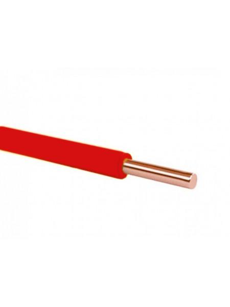 Кабель ПВ 1 - 6 червоний Україна (10000001180) Кабельно-провідникова продукція - інтернет - магазині Моя Лампа ™