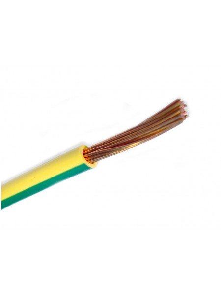 Кабель ПВ 3 - 1 желтый/зеленый Украина (10000001195) Кабельно-проводниковая продукция - интернет - магазин Моя Лампа ™