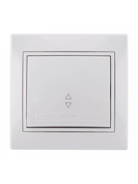 Выключатель проходной Mira701-0202-105 LEZARD белый (701-0202-105) Розетки и выключатели - интернет - магазин Моя Лампа ™