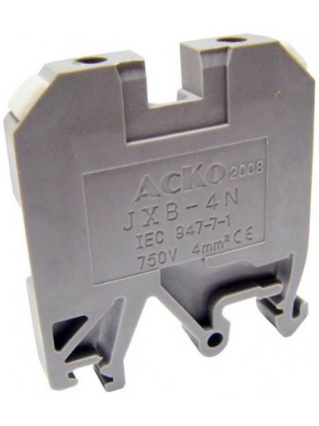 Клеммник JXB- 4 (A0130010002) Средства для электромонтажа - интернет - магазин Моя Лампа ™