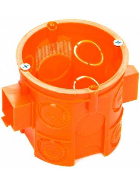 Коробка інсталяційна набір 60 глиб  (70шт) шуруп Smartbox (OC 60 FDs) Коробки монтажні - інтернет - магазині Моя Лампа ™