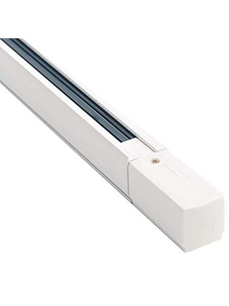 Направляюча рейка для трекового світильника 1м (біла) 220-240V (LIGHTING TRACK 1m) Трековые системы - интернет - магазин Моя Лампа ™