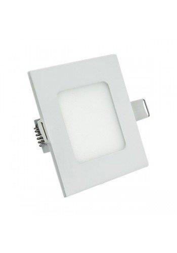 Светодиодная панель Lezard  квадратнаяя-3Вт внутренная (85x85/75x75) 4200K, 240 люмен - (442RKP-03) (442RKP-03) Светильники для торговых помещений и офисов - интернет - магазин Моя Лампа ™