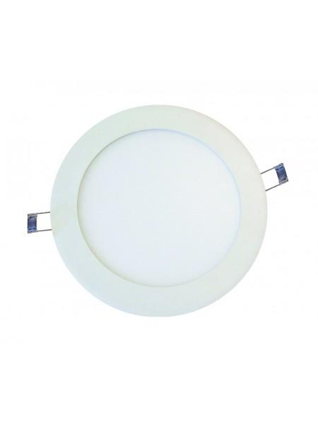 Светодиодная панель DELUX внутренная CFR LED 10  4100К 6 Вт 220В круг (120/100) 420 Лм - (90006811) (90006811) Светильники для торговых помещений и офисов - интернет - магазин Моя Лампа ™