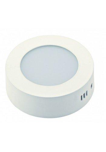 Светодиодная панель DELUX внешняя CFQ LED 40 4100К 12 Вт 220В круг (175/175) 900 Лм - (90001553) (90001553) Светильники для торговых помещений и офисов - интернет - магазин Моя Лампа ™