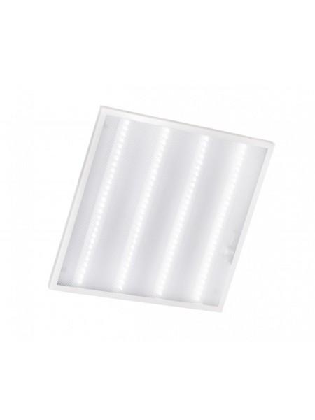 світильник світлодіодний офісний DELUX CFQ LED 45 36Вт 6500K 2500 Лм (595 * 595) призм - (90010225) (90010225) Світильники для торгових приміщень і офісів - інтернет - магазині Моя Лампа ™