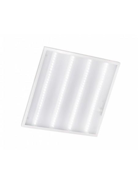 світильник світлодіодний офісний DELUX CFQ LED 40 36Вт PL01 6500K (595 * 595) призм - (90008426) (90008426) Світильники для торгових приміщень і офісів - інтернет - магазині Моя Лампа ™