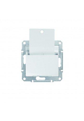 Карточный выключатель 10 A  Sedna SDN1900121 белый (SDN1900121) Розетки и выключатели - интернет - магазин Моя Лампа ™